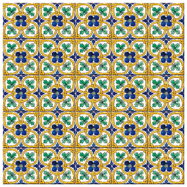 南米タイル、南イタリアタイル、スペインタイルなどの暖かい地域特有の配色・デザインをプリントしたタイルです。壁タイル材として、キッチン周りや店舗の壁面のアクセントとしてご利用頂けます。アンティークタイルの様な風合いも兼ね備えています。