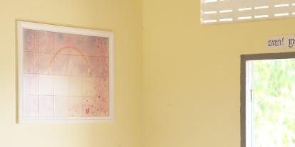 カンボジア寺子屋<br>倉木麻衣 イラストタイル