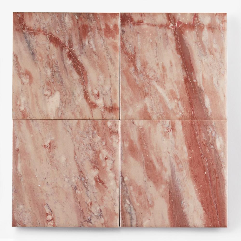 赤色の石目調のプリントタイルです。<br />壁タイルとしてご利用頂けます。