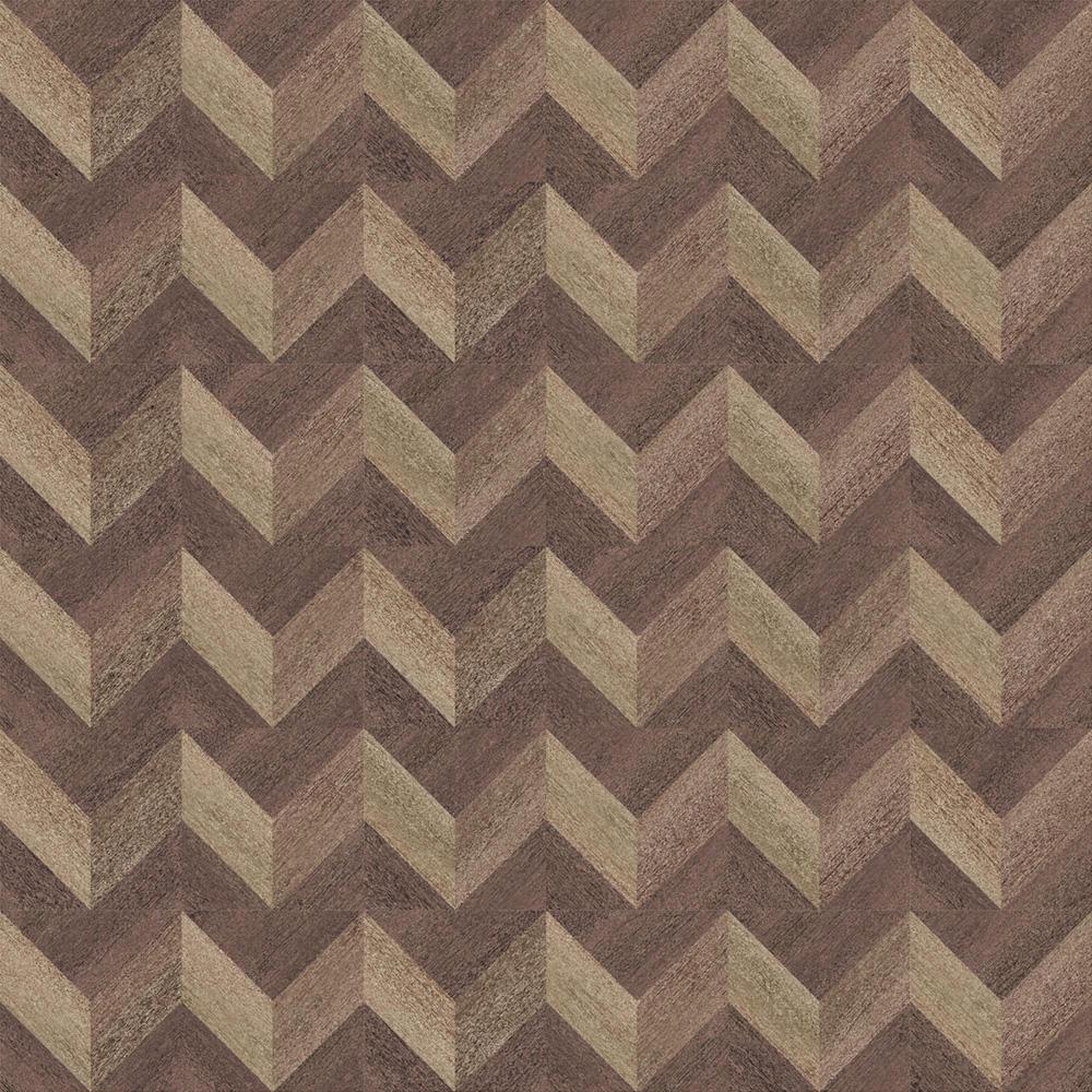 幾何学な木目調のタイルです。 WOO-1011-1とWOO-1011-2を組み合わせることで、柄のパターンの製作も可能です。