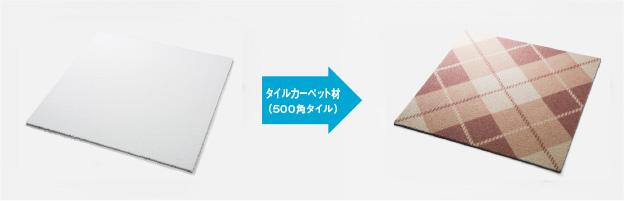 プリントタイルカーペット【内床】