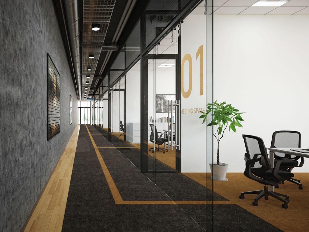 オフィス向け「特注建材」の活用事例